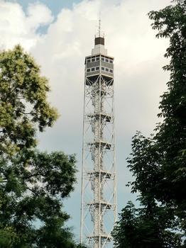 Branca tower from via Pagano