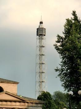 Branca tower from corso Sempione