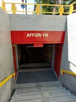Affori FN Metro station, access