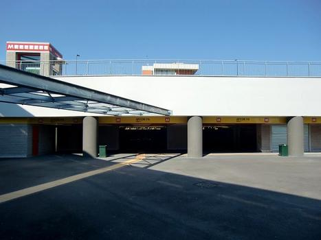 Affori FN Metro station, main access from Milano-Affori FN Railways Station