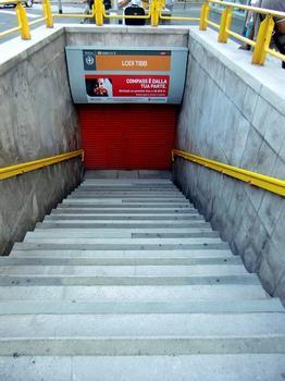 Lodi TIBB Metro Station, access