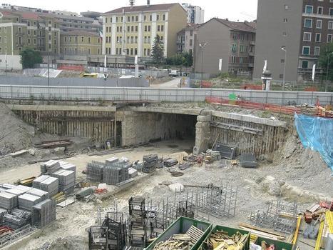 Garibaldi FS Metro Station site (manufatto Como)