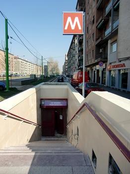 Cà Granda Pratocentenaro Metro Station - access