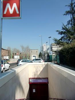Ponale Metro Station - access