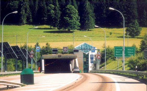 Tunnel Mont Sagne