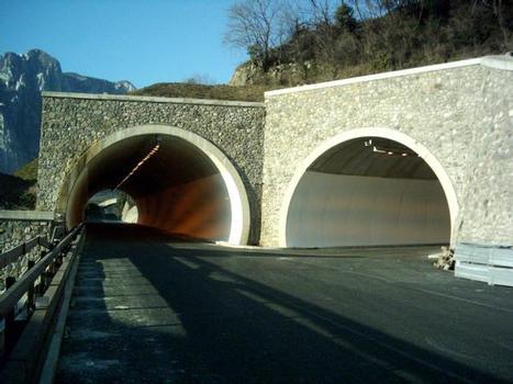 Poggi 1 (left) andPoggi 2 tunnels under construction