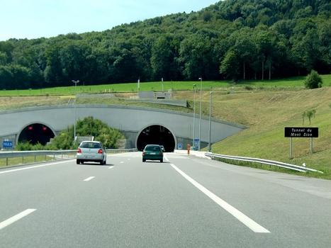 Mont-Sion Tunnel, northern portals