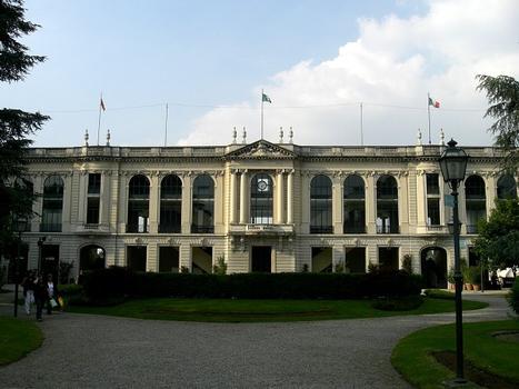 San Siro Hyppodrome main tribunes
