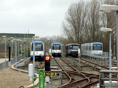 Metrobahnhof Isolatorweg