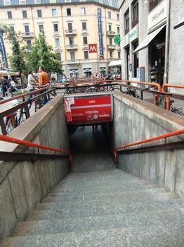 Metrobahnhof Lima