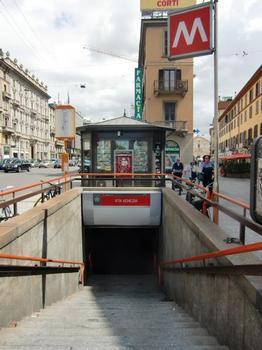 Gare de métro Porta Venezia