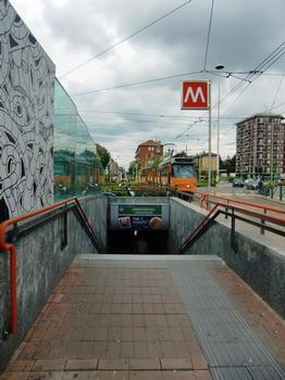Abbiategrasso Metro Station, access