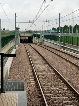 Milan Metro Line 2 near Assago