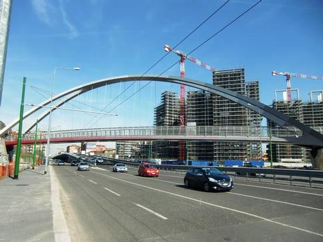 Serra arch footbridge