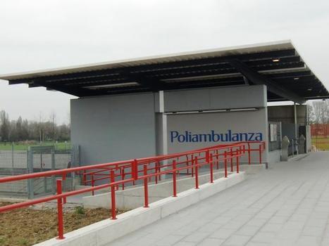 Station de métro Poliambulanza