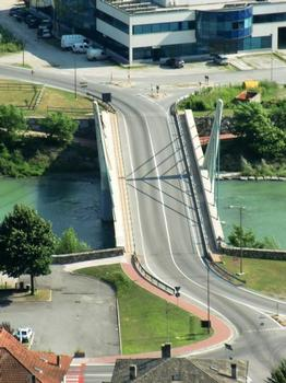 Adda Bridge, Addabrücke Mantello, Ponte Strallato di Mantello