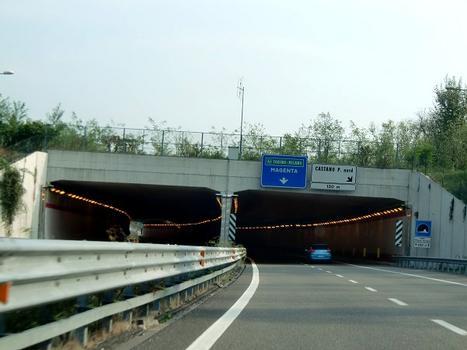 FNM Milano-Novara Tunnel, northern portals