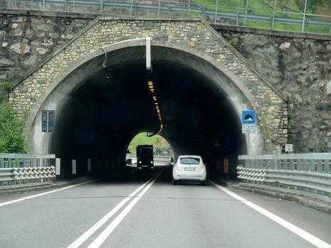San Fermo Tunnel, southern portal