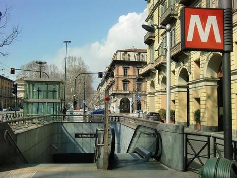 Station de métro Re Umberto