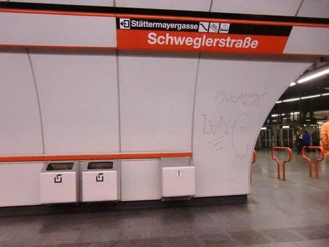 Station de métro Schweglerstraße