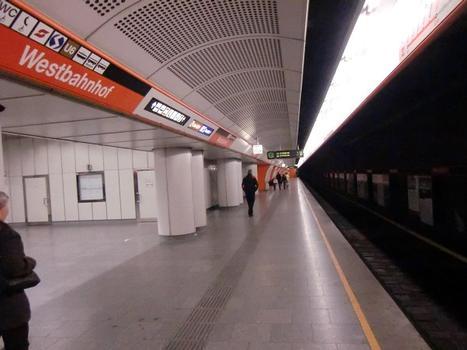 Station de métro Westbahnhof