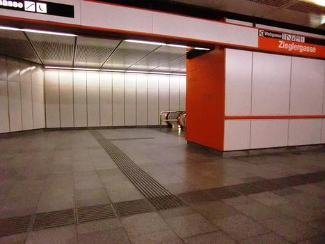 Station de métro Zieglergasse