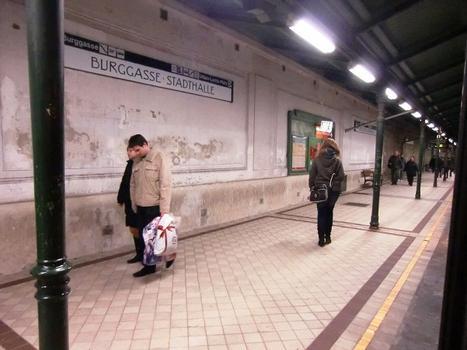 Bahnhof Burggasse - Stadthalle