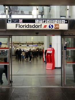Station de métro Floridsdorf