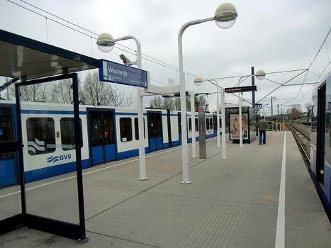 Westwijk Metro Station, platform