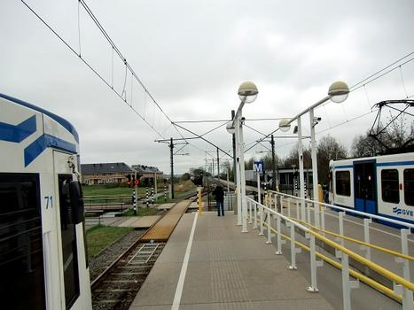 Westwijk Metro Station, platform and end of the track