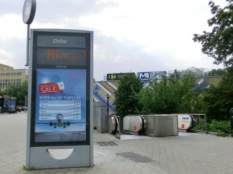 Station de métro Delta