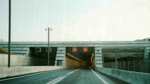 Øresund Tunnel western portals