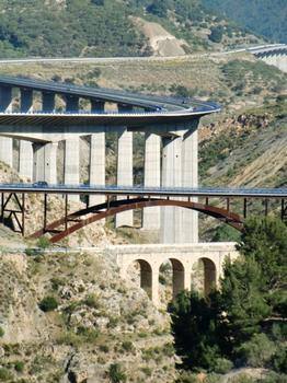 Pont d'Izbor, Viaduc de Rules, Vieux pont d'Izbor