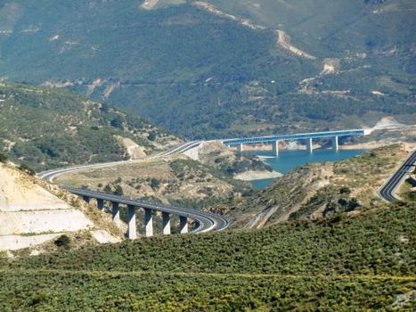 Viaduc de Rules, Viaduc de Las Lomas I, Viaduc du barrage de Rules