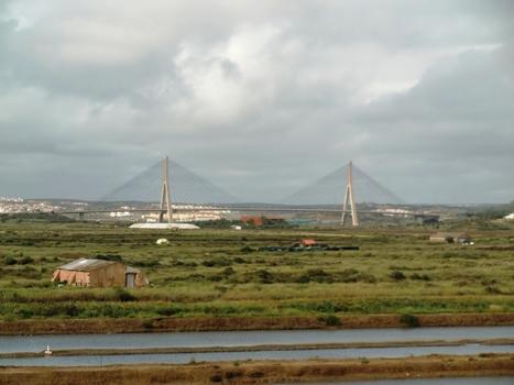 Puente Internacional from Castro Marim
