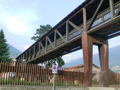 Edolo Station Covered Footbridge