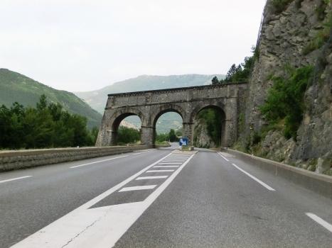Ponts des Eléphants, Cornillons I tunnel northern portal