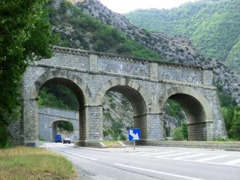 Ponts des Eléphants, Cornillons I tunnel southern portal