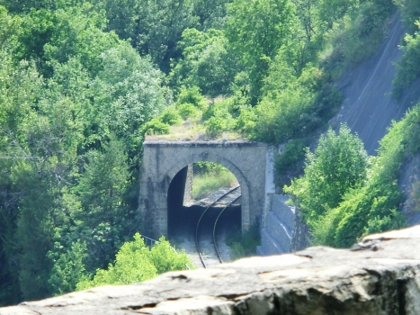 Salvaret Tunnel eastern portal