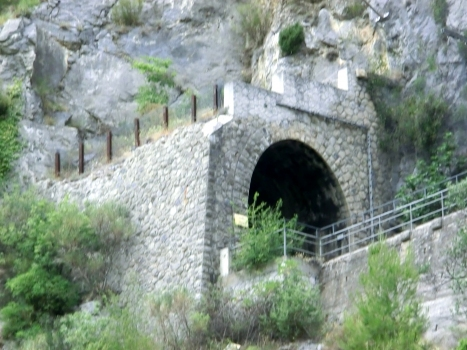 Gombe Tunnel northern portal