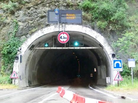 La Mescla Road Tunnel northern portal