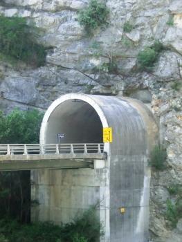 La Mescla Road Tunnel southern portal