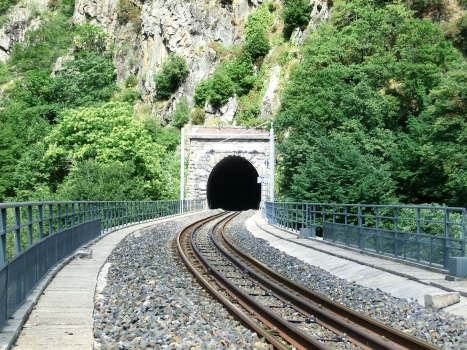Porcarezzo Tunnel southern portal