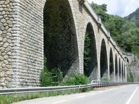Eboulis Viaduct and Sanfurian Tunnel southern portal