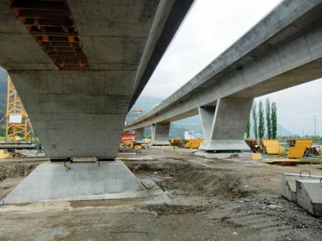 Viaduc ferroviaire Lugano-Bellinzona