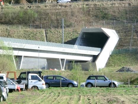 Ceneri Base Tunnel northern portal