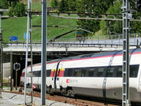Tunnel ferroviaire du Saint-Gothard