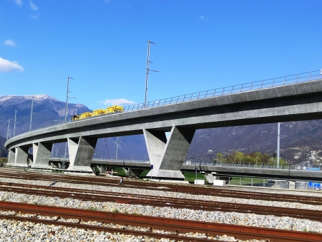 Lugano-Bellinzona Rail Viaduct