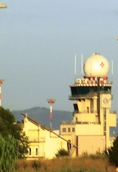 "Florence ""Amerigo Vespucci"" International Airport control tower"
