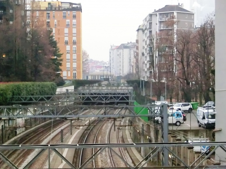 Filelfo-Caneva Tunnel northern portal